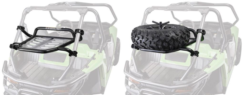 New Wildcat Spare Tire Carrier From Arctic Cat Enjoy convenience, peace of mind | Dirt Toys Magazine