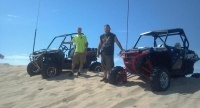 On top of test hill at silver lake sand dunes