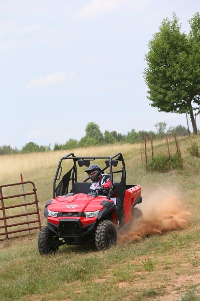Kymco Unveils New Smaller Side By Side Atv With Eps