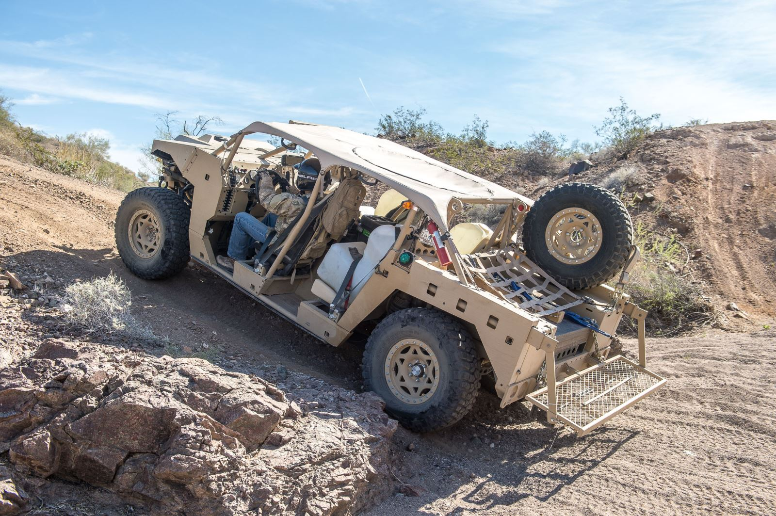 Polaris Defense Debuts Newly Contracted Ultra Light