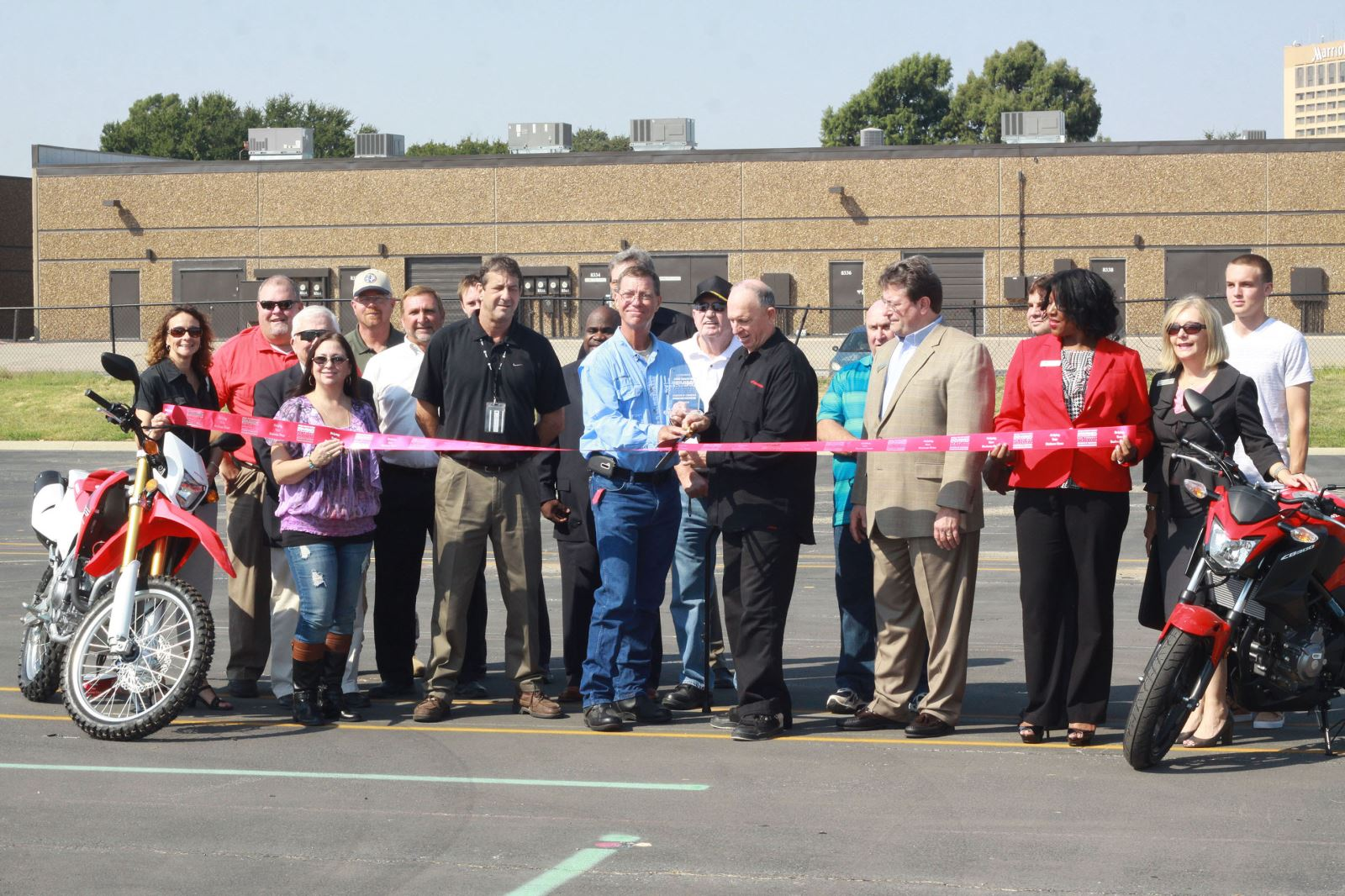 honda rider education center reopens in irving, tx facility to
