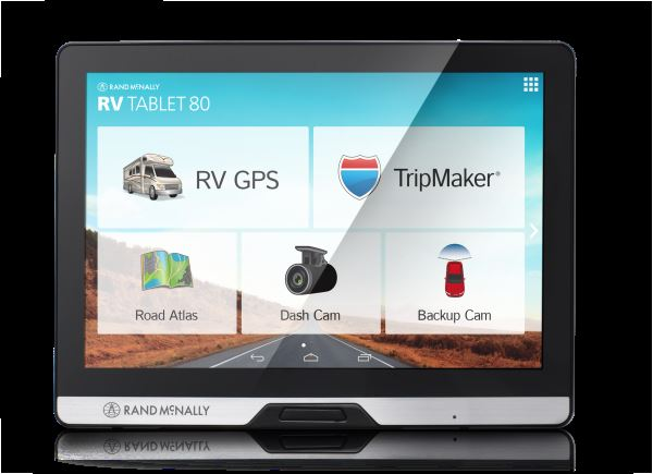 Rand Mcnally Gps >> Rand McNally Innovates RV Travel With New Dashboard Device ...