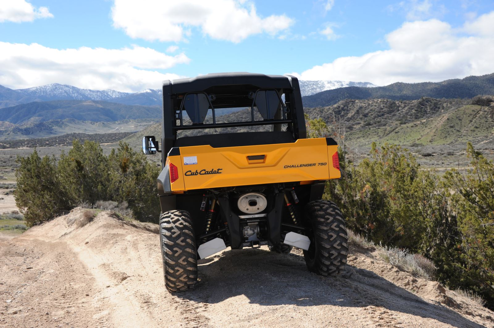 Cub Cadet Expands Utility Vehicle Line With New Challenger Models Utv Transmission Schematic Accessory Rack Tubes