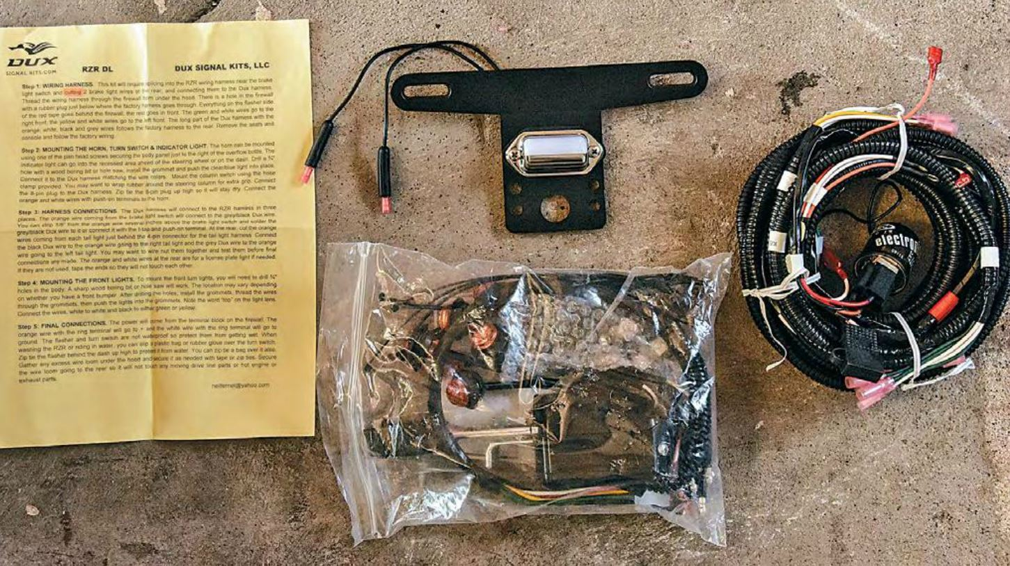 Product Install Our Turn Dux Signals Dirt Toys Magazine Wiring Harness Kits For Cars Old Like What You Read
