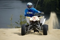 2011 ride at Oregon Dunes National Recreation Area on Yamaha 2012 YFZ450 - Photo by Adam Campbell.