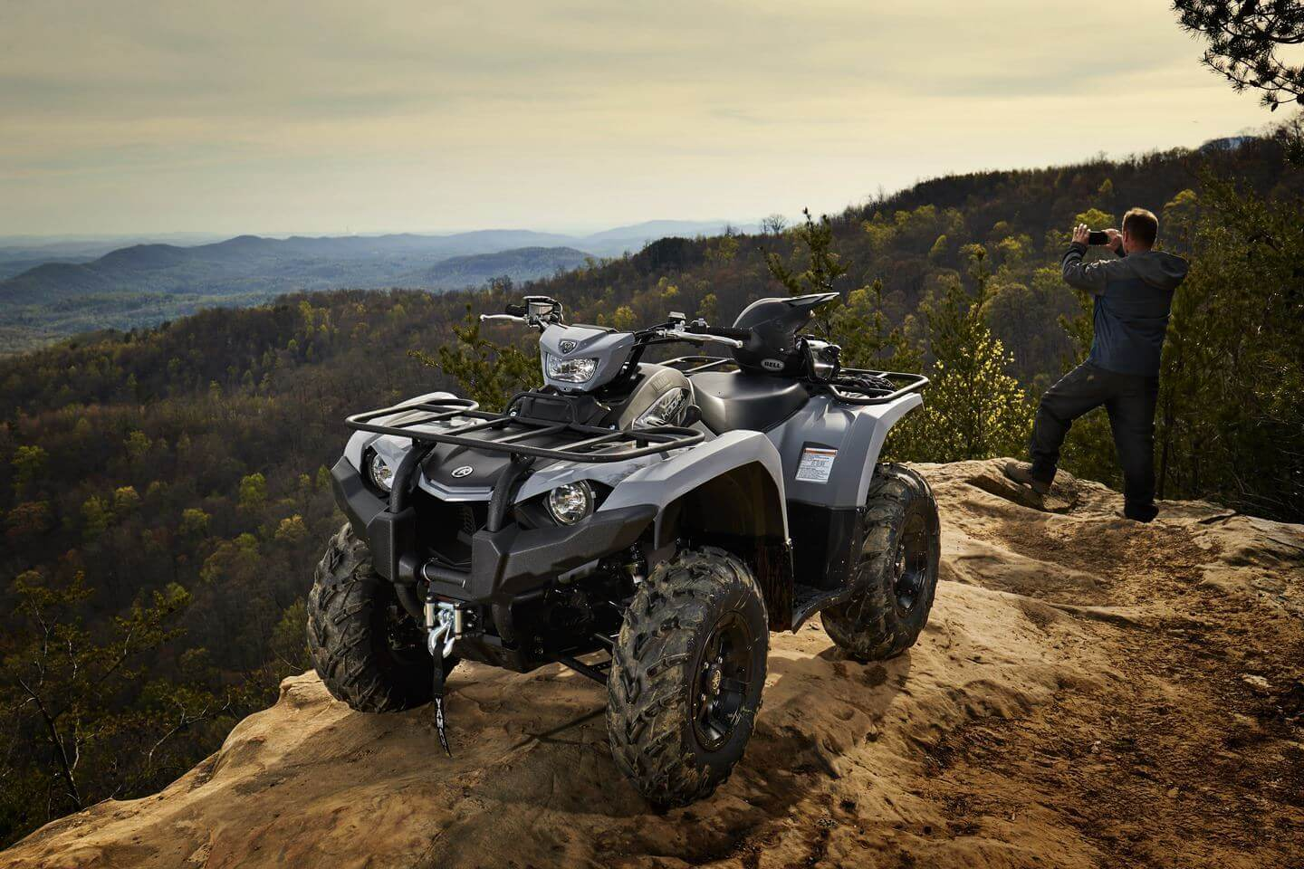 Yamaha Announces All New Proven Off Road 2018 Kodiak 450 Mid Class Winch Wiring Diagram Like